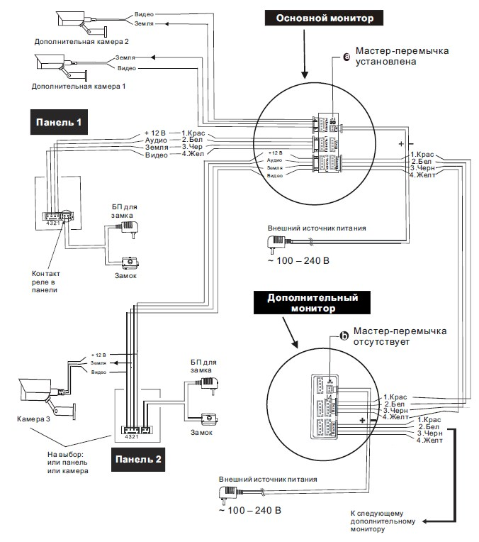 Схема подключения для SL-10