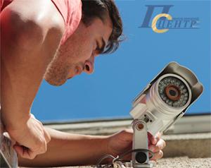 монтаж систем видеонаблюдения в СпектрИнжиниринг